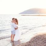 Acqua dolce e salata: il servizio di gravidanza di Andrea, Gianluca e Gaia