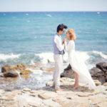 Un matrimonio all'insegna della leggerezza: Yuliya e Nicolò