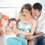 Quando l'amore si moltiplica: un servizio fotografico di gravidanza e famiglia a Portovenere