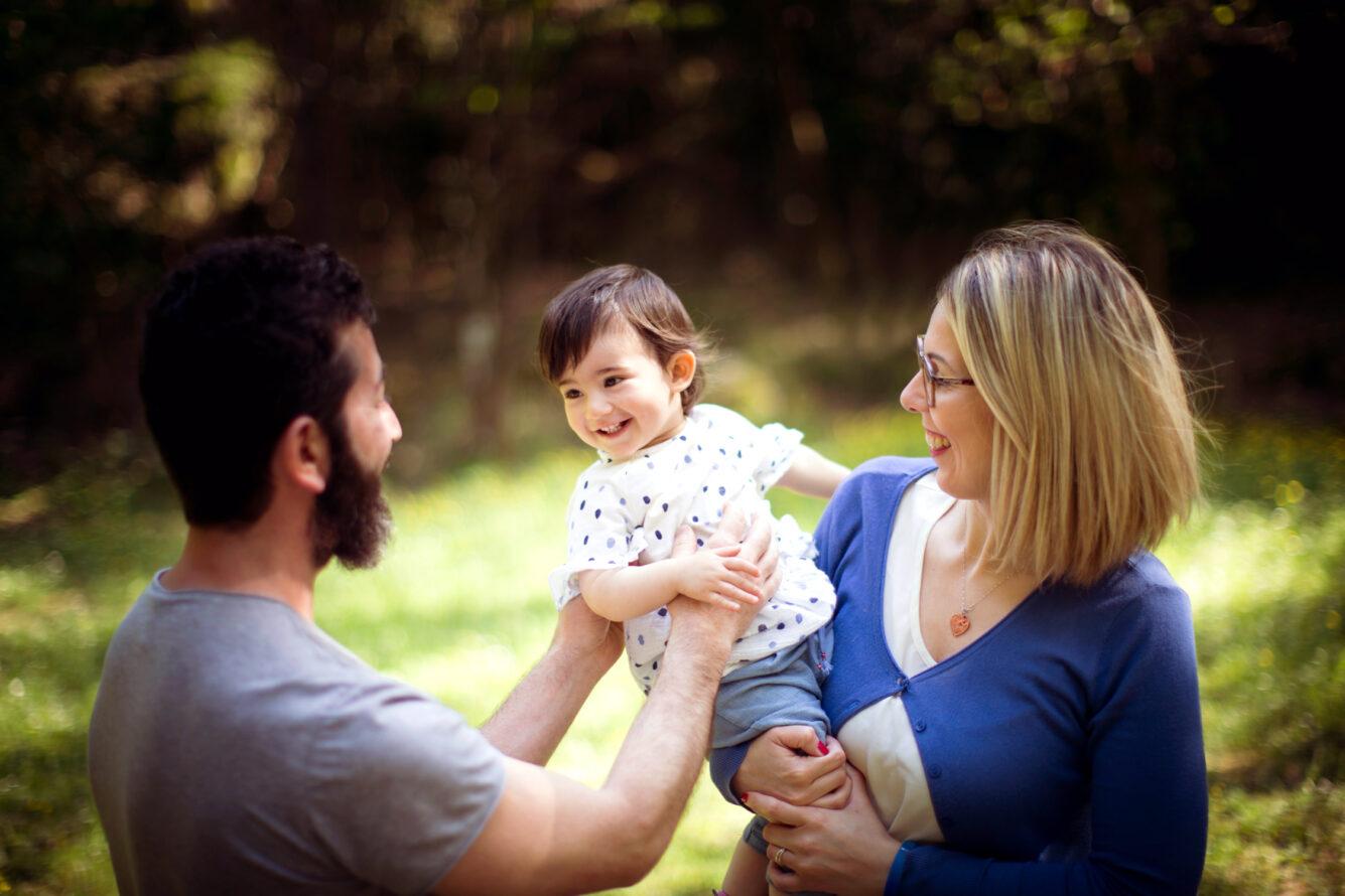 servizio fotografico famiglia La Spezia fotografo bambini